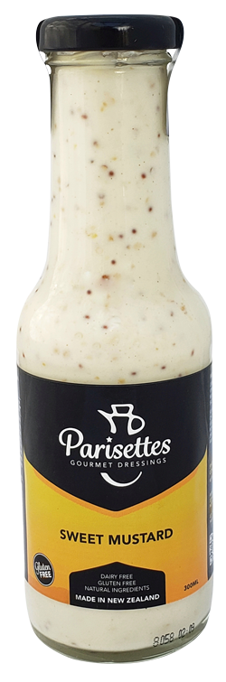 Parisettes – Gourmet Dressings - Sweet Mustard